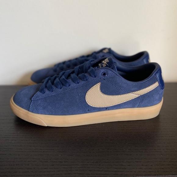 Nike SB Zoom Blazer Low GT Midnight Navy Sneakers